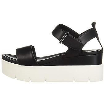 Franco Sarto Womens Vanjie Open Toe Casual Platform Sandals