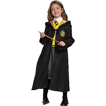 Girls Hufflepuff Dress Costume -Harry Potter