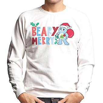 Care Bears låse opp den magiske julen Beary Merry Menn's Sweatshirt