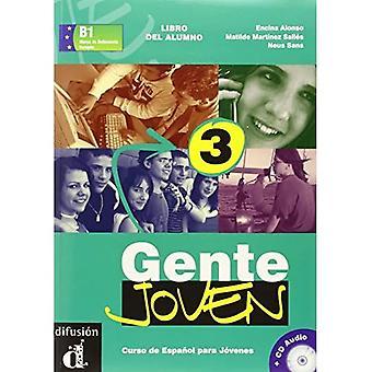 Gente Joven: Libro Del Alumno + CD 3