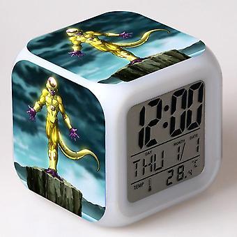 الملونة متعددة الوظائف LED الأطفال & apos;ق منبه ساعة -إسفيرا تفعل dragão #11