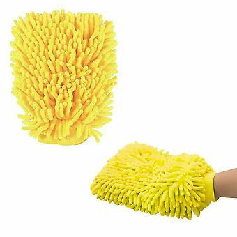 Micro fiber Chenille Multipurpose Cleaning Glove Car Dust Cleaning Washing Cloth