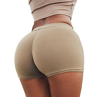 Summer Wear Peach Hips Shorts - Athletic Workout Gym Shorts Women