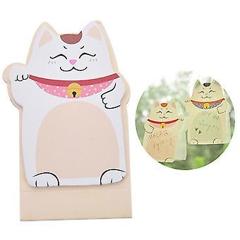 New Stationary Planner Stickers, Lucky Cat Maneki Neko Memo Bookmark Sticky