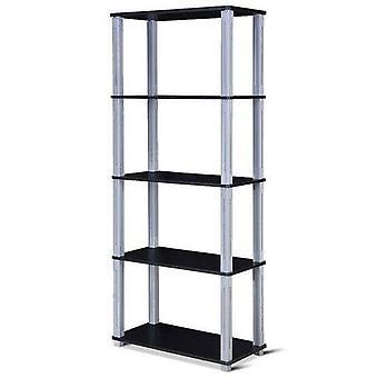 متعددة الوظائف التخزين رفوف الرف عرض خزانة الكتب