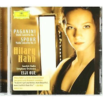 Hilary Hahn - Paganini: Violin Concerto No. 1; Spohr: Violin Concerto No. 8 [CD] USA import