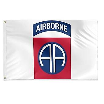 82nd Airborne Division Insignia Military Veteran Flag 3x5 Feet