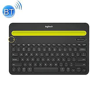 Logitech K480 Multi-device Bluetooth 3.0 Wireless Bluetooth Keyboard with Stand (Black)