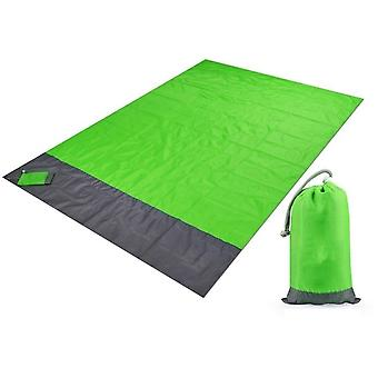 Pocket Blanket Waterproof/portable Picnic Beach Mat &outdoor Camping Sleeping
