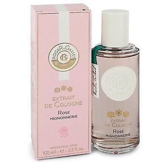 Roger & gallet rose mignonnerie extrait de cologne spray by roger & gallet 550077 100 ml