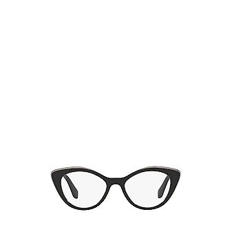 Miu Miu MU 01RV black top grey female eyeglasses