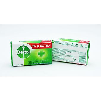 Large Dettol Original Hygiene Bar Soap 5 x 175g Protects From 100 iIllness-Causing Germs