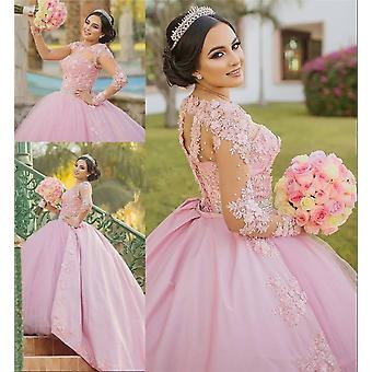 15 Anos Plus Size Pageant Prom Robes