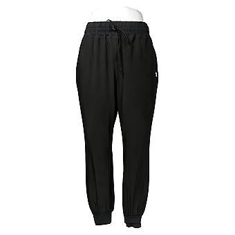 Enhver Kvinder & apos;s Petite Bukser Flyt High Tech Stretch Jogger Sort A306095