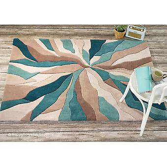 Splinter Teal Tapis