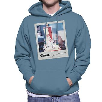 Supercar Mitch The Monkey And Professor Popkiss Men's Hooded Sweatshirt