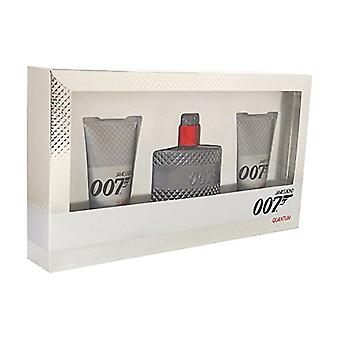 James Bond 007 Quantum Gift Set 50ml EDT + 2 x 50ml Shower Gel
