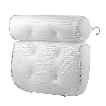 3d Mesh Cushion Bath Tub Spa Pillow Non-slip Bathtub Head Rest