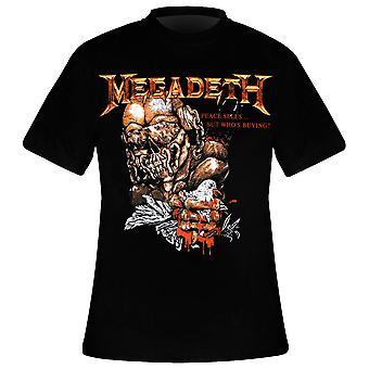MEGADETH Fred Selger Vintage T-skjorte