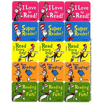 Cat In The Hat Reading Success Stickers, 120/Pkg