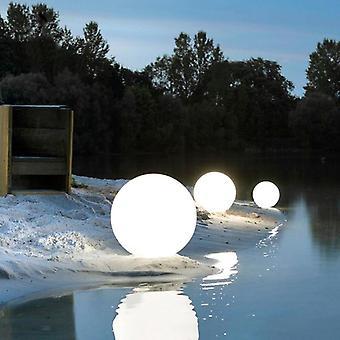Luz da paisagem do jardim ao ar livre led, piscina de controle remoto recarregável