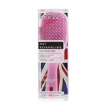 Tangle Teezer The Wet Detangling Mini Hair Brush - # Baby Pink Sparkle (Travel Size) 1pc