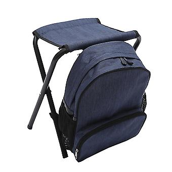 Portable Outdoor Multifunction Collapsible Backpack Camping Chairs