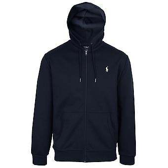 Ralph lauren men's aviator navy core replen zipped hoody