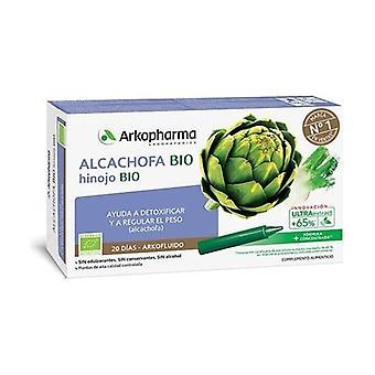 Arkofluido Artichoke + Fennel 20 ampoules