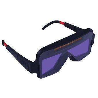 Solar Auto Mørkere Svejsning Hjelm Eyes Beskyttelsesbriller