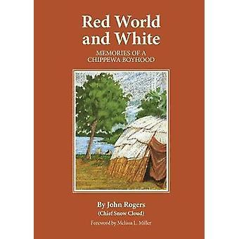 Punainen maailma ja valkoinen - Muistoja Chippewa Boyhoodista kirjoittanut John Rogers -