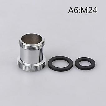 Faucet Adapter, Thread Transfer Brass Connector, Bathroom Kitchen Faucet Spout