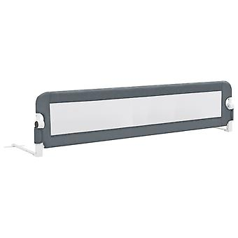 Toddler Safety Bed Rail Grey Polyester