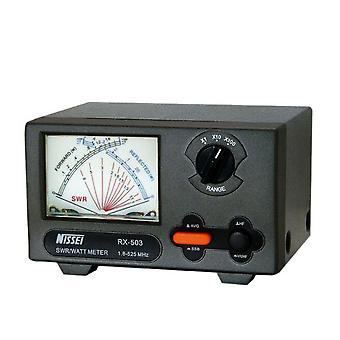 PNI Analog Reflektometer Nissei RX-503 SWR 1.8-525 MHZ Wattmeter 0-200W 12V