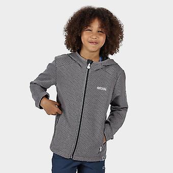 New Regatta Kids' Mid Weight Orbiter Fleece Grey