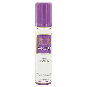 April Violets by Yardley London Body Spray 2.6 oz
