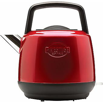 Gerui - Heritage - Red Electric Kettle - Cordless - Fast Boil - Stainless Steel - Retro - 3000 W - 1.5L