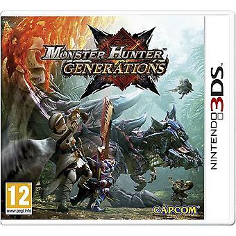 Monster Hunter generaties 3DS spel