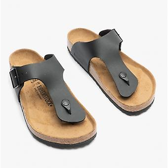 Birkenstock Ramses 44791 (reg) Herre Birko-flor tå post sandaler sort