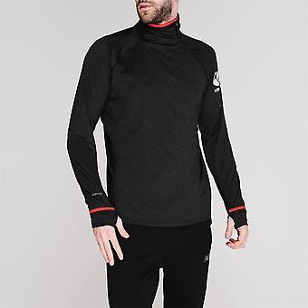 Canterbury Men Van High Neck Long Sleeves Lightweight Quick Dry Top Jacket