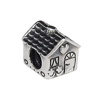 ANGELDEVIL Charm Silver Sterling. Thread Compatible with All Brands of Bracelets