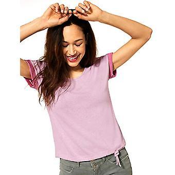 Street One 316314 T-Shirt, Eden Pink Melange, 50 Woman