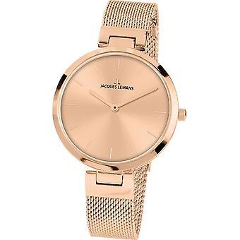 جاك ليمانز ساعة اليد المرأة ميلانو كلاسيك 1-2110L