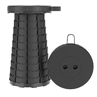 Black outdoor folding telescopic stool£¬portable adjustable stool for fishing az18213