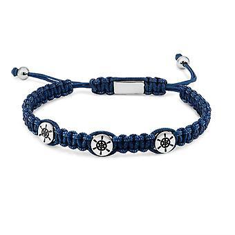 Bracelet Homme  Zeades TAQUET Abyss - ZMB02700 Corde Bleu