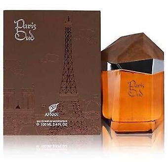 Paris Oud By Afnan Eau De Parfum Spray 3.4 Oz (women)