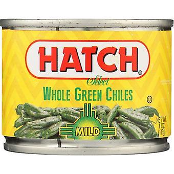 Hatch Green Chili Whl Mild, Case of 12 X 4 Oz