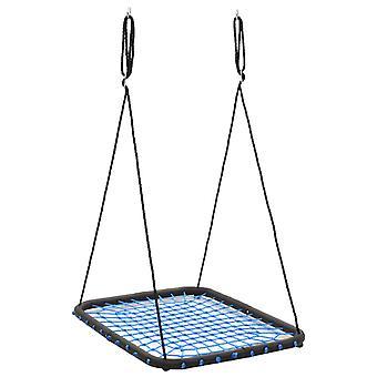 vidaXL Schaukel 104 x 76 cm 200 kg Blau