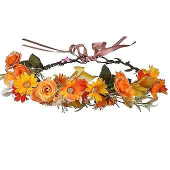 Pää riisuu Garland Mori Antlers Flower Headbandin