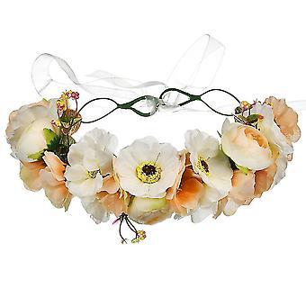 Wreath Crown Bride Wedding Headdress Photography Hair Jewelry